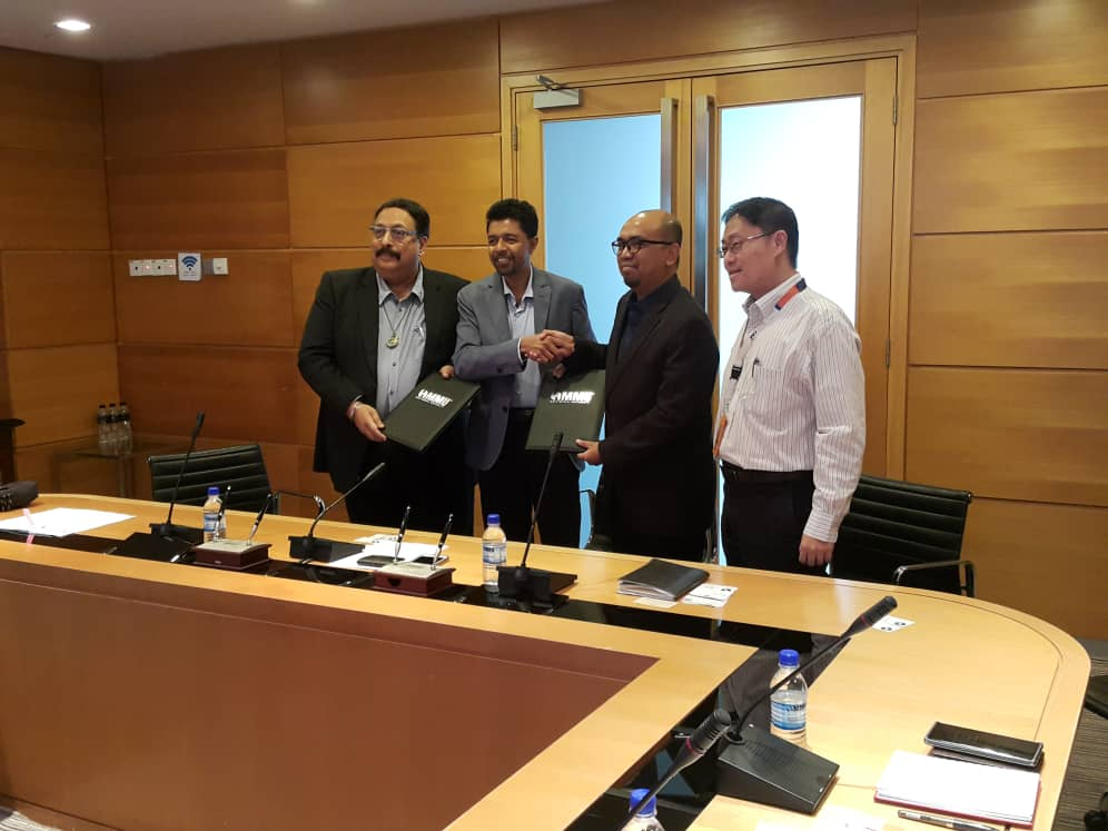 NDA Signing Ceremony Between Ventura IOT, Multimedia University And Kassoft India Pte. Ltd. For Petronas Technology Challenge