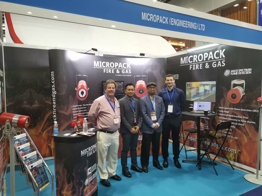 Ventura With Micropak UK At Oil & Gas Asia (OGA) 2019